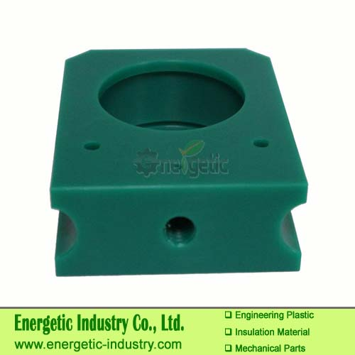 Customized machining  green ultra high molecular weight assembling conveyor fastening accessories