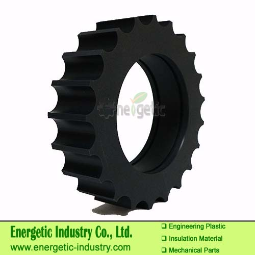 HDPE machining Plastic Parts UHMWPE Cylindrical Spur Gears